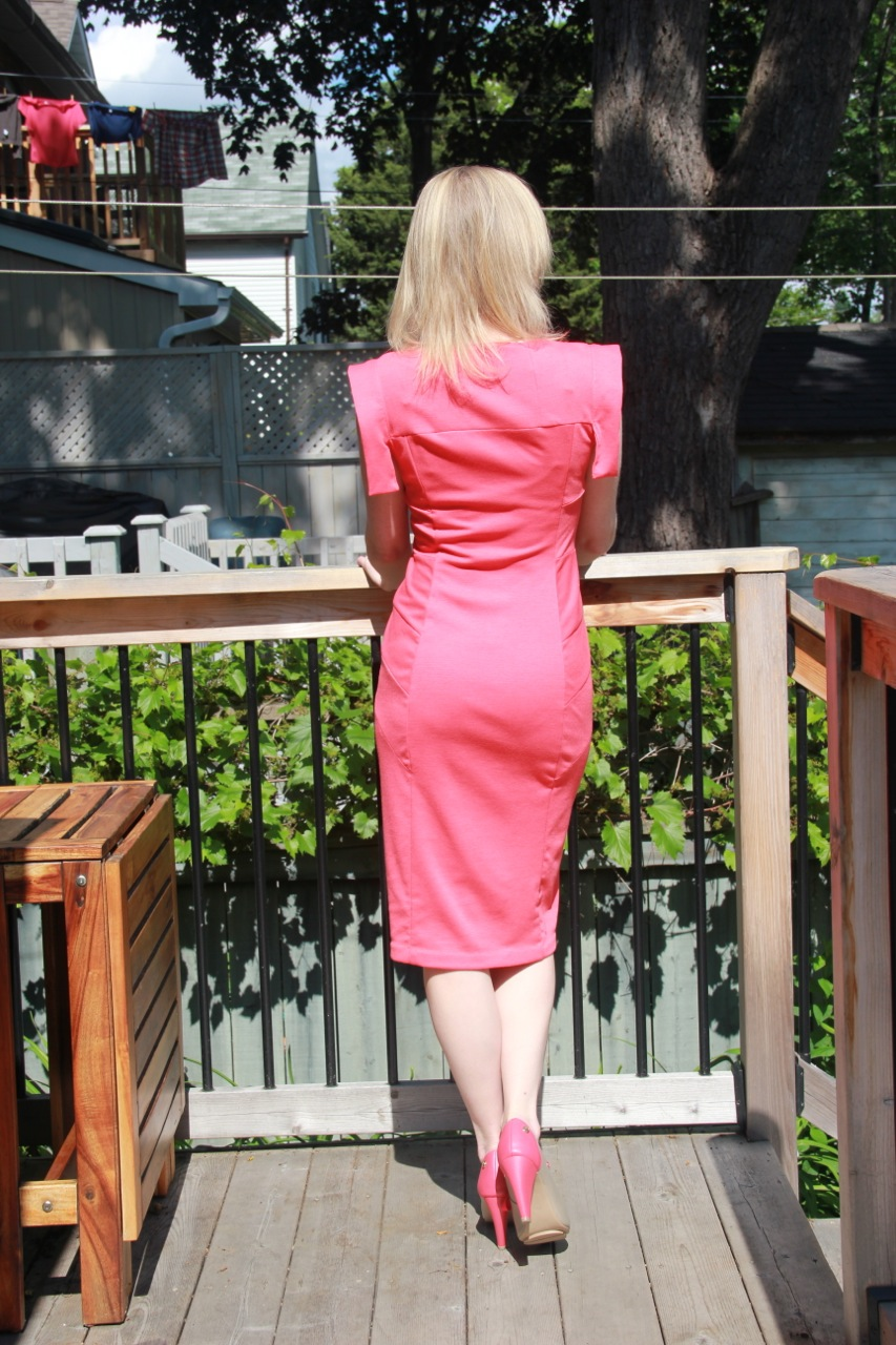 Paneled Sheath Dress: sewing success! – Frivolous at Last