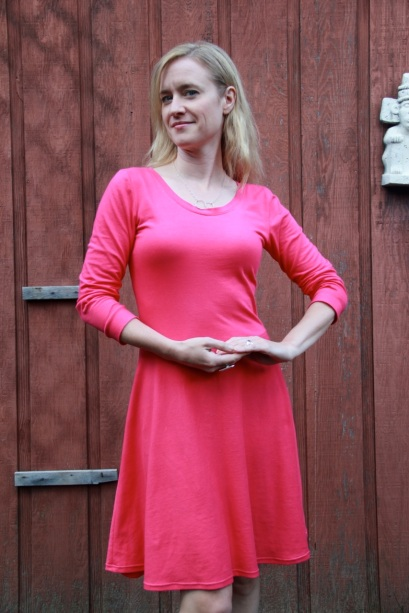 Pink Lady Skater Dress