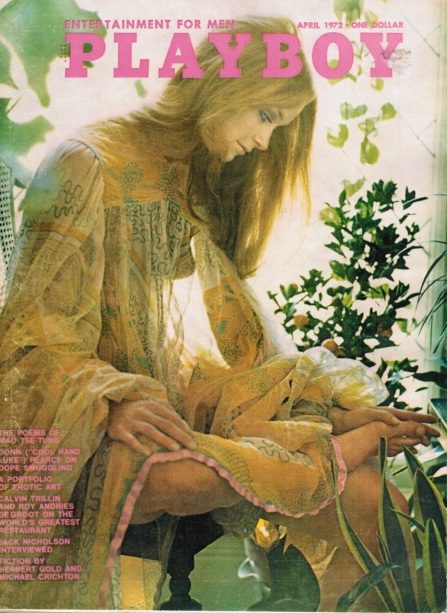 Playboy Magazine April 1972 - Cover