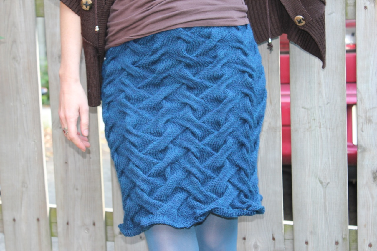 Knitted Skirts for Fall – Frivolous At Last