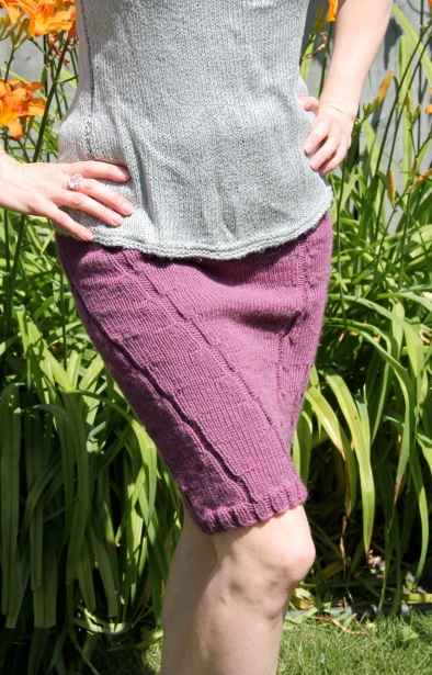 Plum Heather Skirt