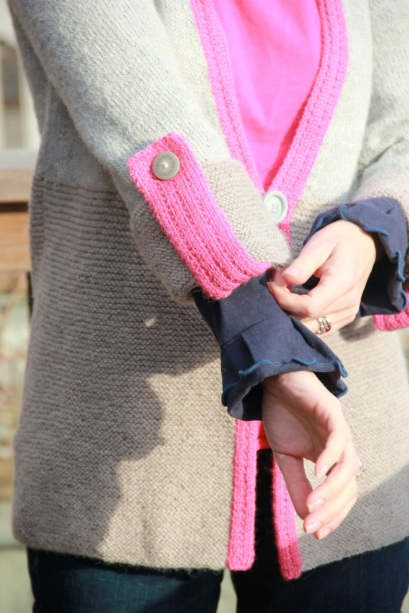 Annika Cardigan Sleeve Detail