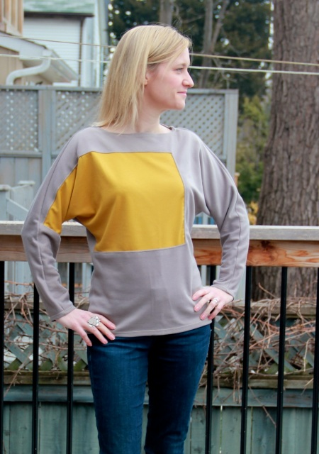 Batwing shirt from McCall's 6792