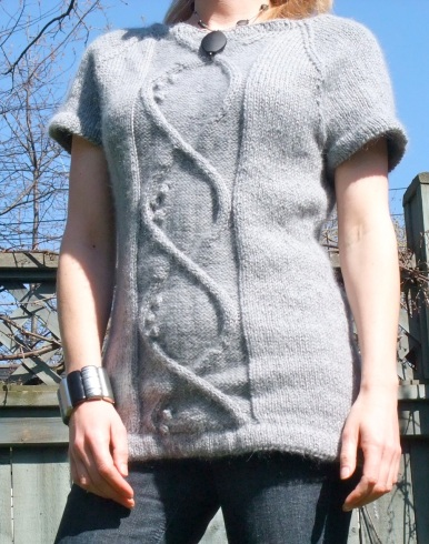 Cabled Tunic by Suvi Simola