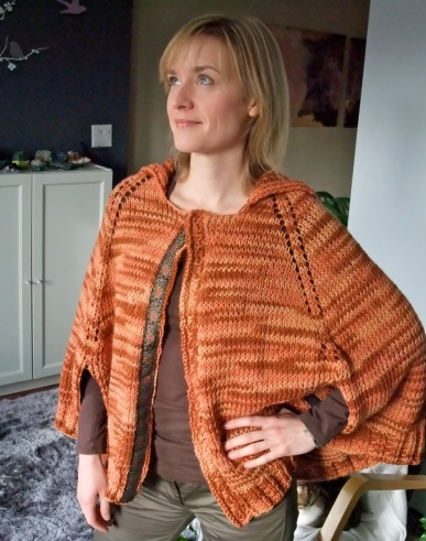 """Not-a-Poncho City Cape"" pattern by Wendy Barnard"