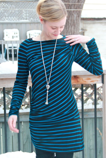 Burda Style Striped Tunic