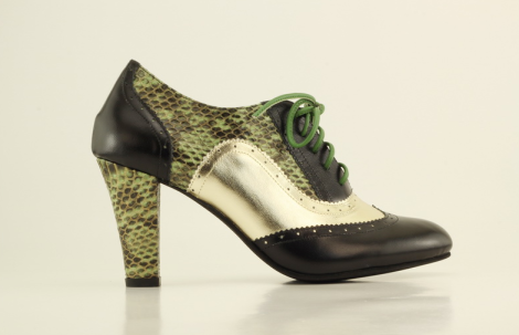 My custom-designed snakeskin shoes from Shoes of Prey.