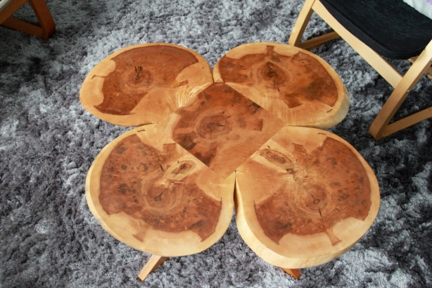 Four Leaf Clover Coffee Table