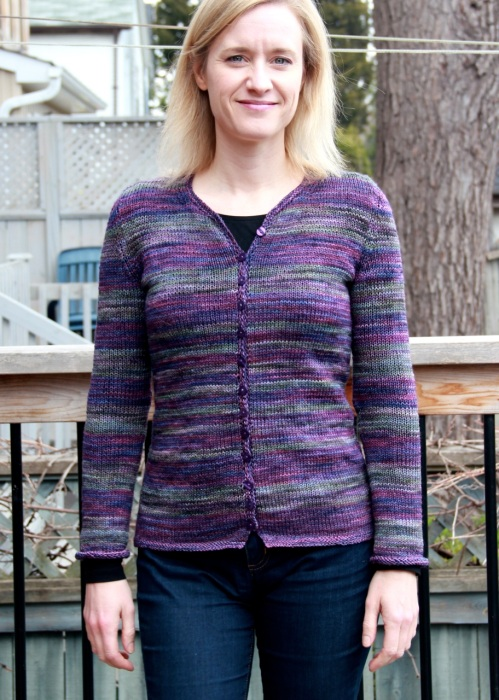 Tempest Striped Cardigan