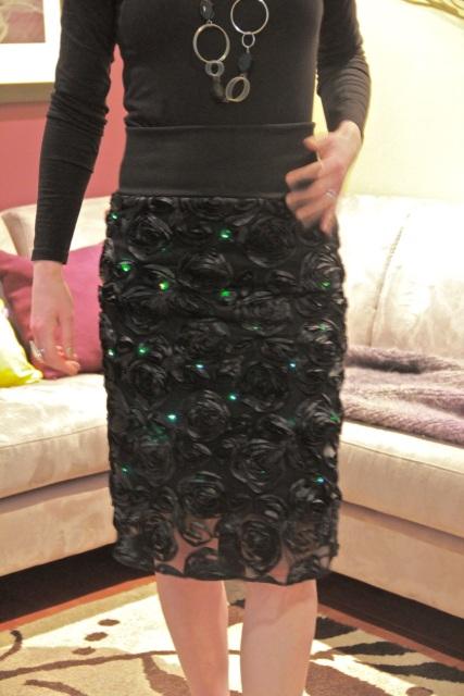 fashionerdanista skirt - twinkle, twinkle!