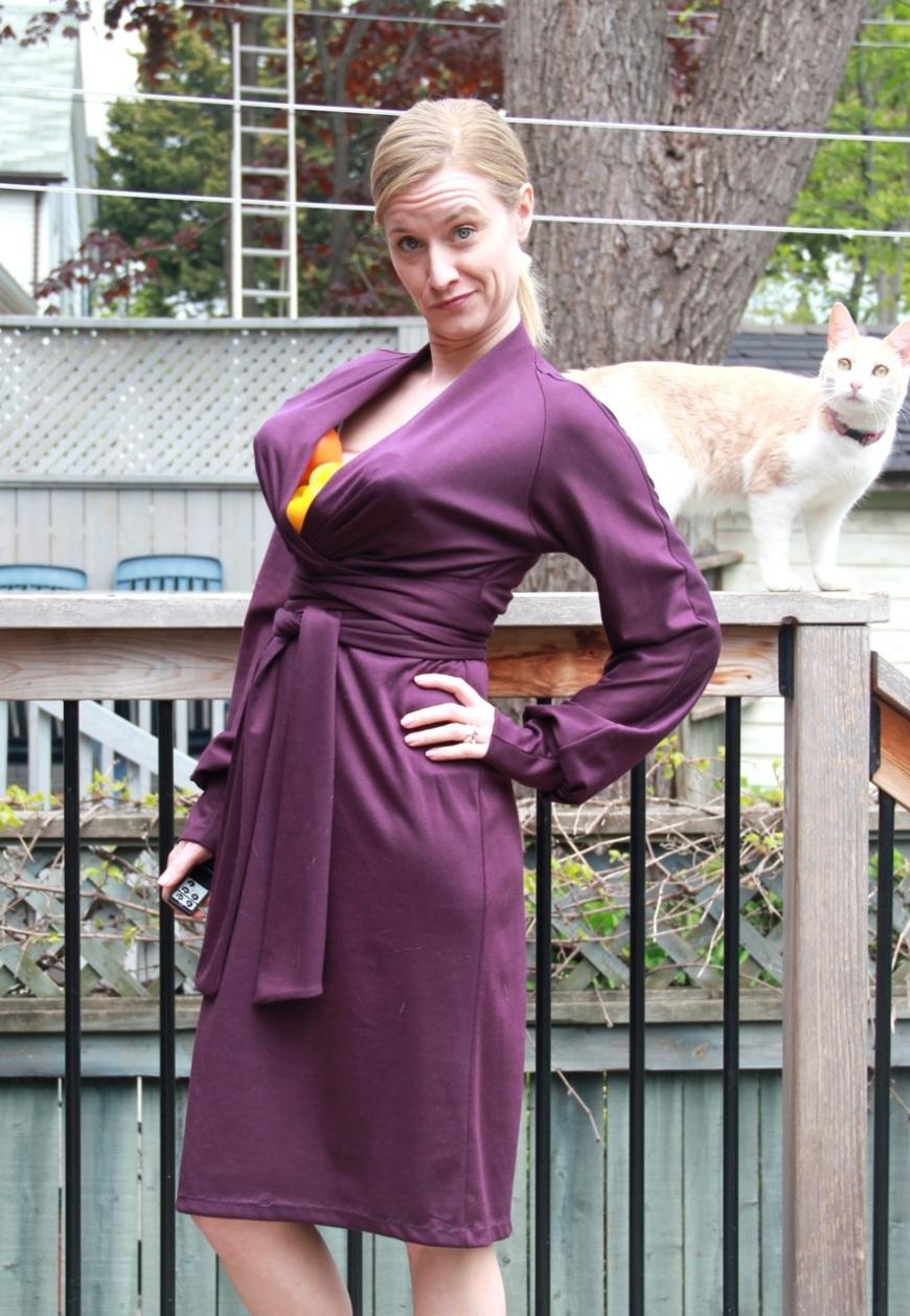 Vogue 8825 dress