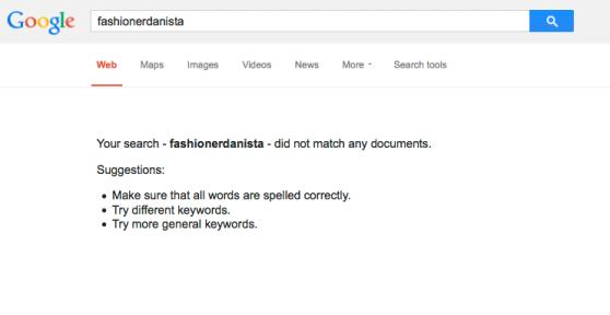 Fashionerdanista? Never heard of it.