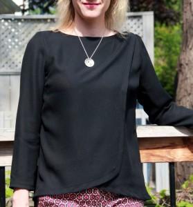 Burda wrap blouse 04/2014 #115