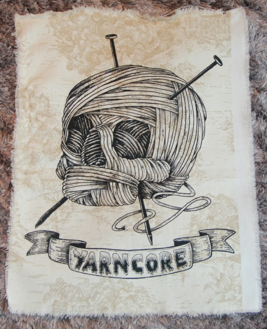 Yarncore screenprint