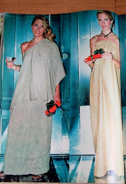 More sparkling sack dresses!