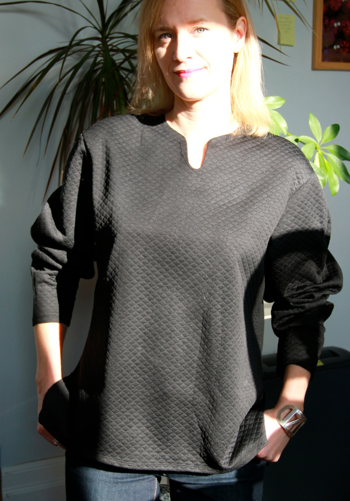 Burda 01/2015 #107 Baggy top