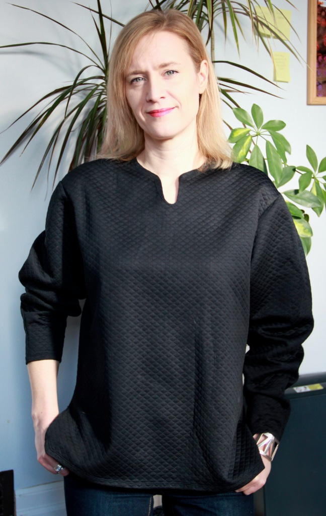 Burda 01/2015 #107 Baggy sweater
