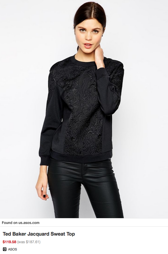 Ted Baker Jacquard Top