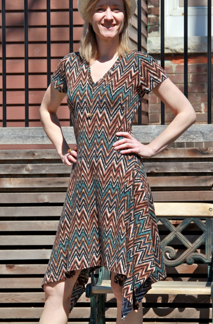 Frivolous At Last - BurdaStyle dress
