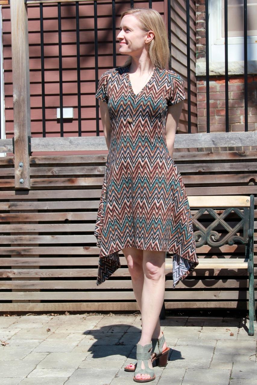 Burda dress