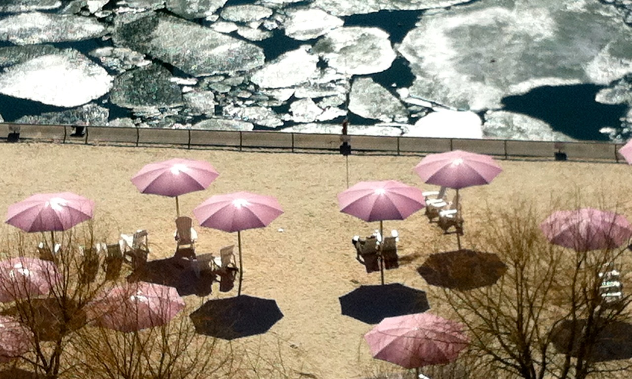 Sugar Beach, Toronto, April 1, 2015