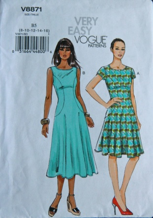 Vogue 8871 dress pattern