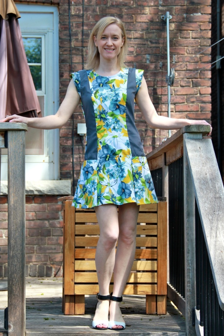 Frivolous At Last - Vogue 1449 Mini Dress