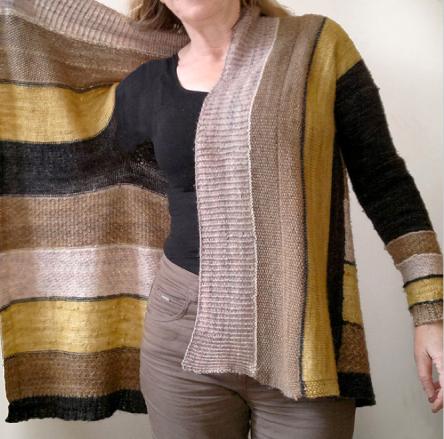 Winter Wheat knitting pattern by Atelier Al-fa