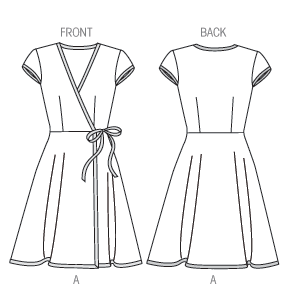 M6959 dress pattern