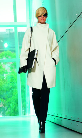 Burda High-Collar Coat 09/2010 #118