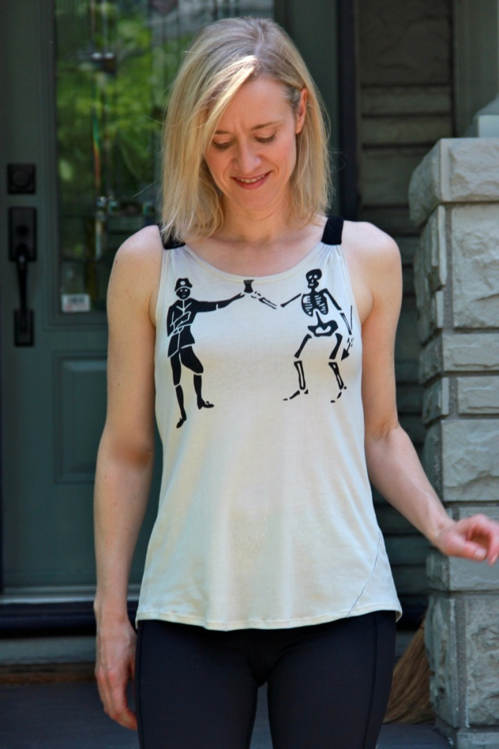 Frivolous At Last - Seamwork Aurora tank top