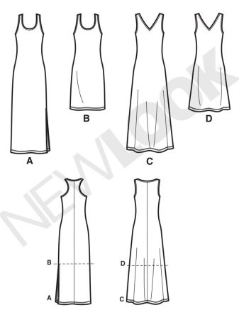 New Look 6210 Dress Pattern