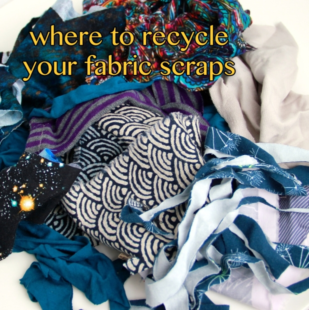 where to recycle fabric scraps