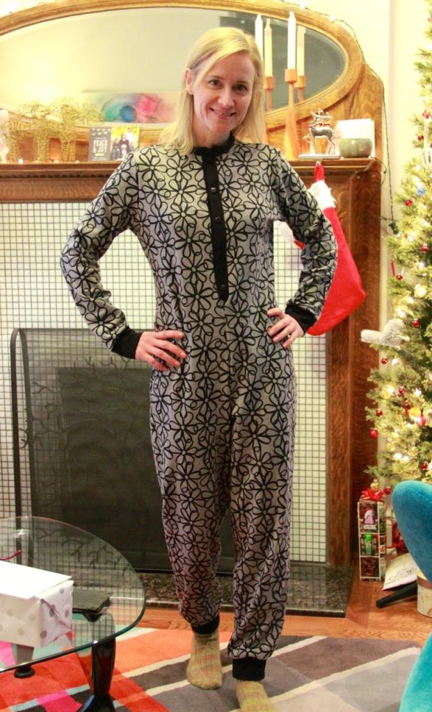 Burda onesie pyjamas