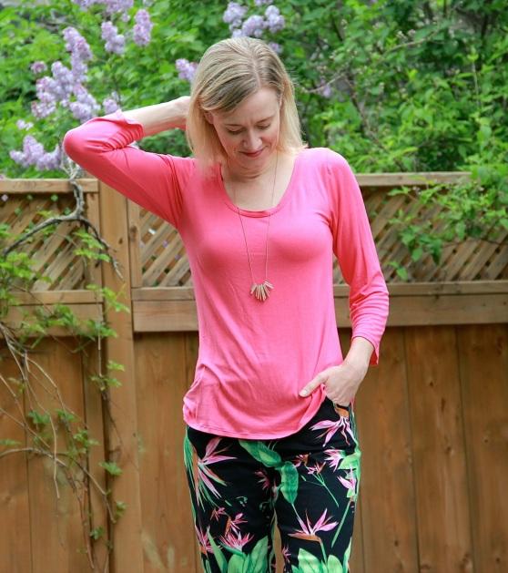 Deer & Doe Plantain Tee and Wardrobe by Me Haute Skinny Pants