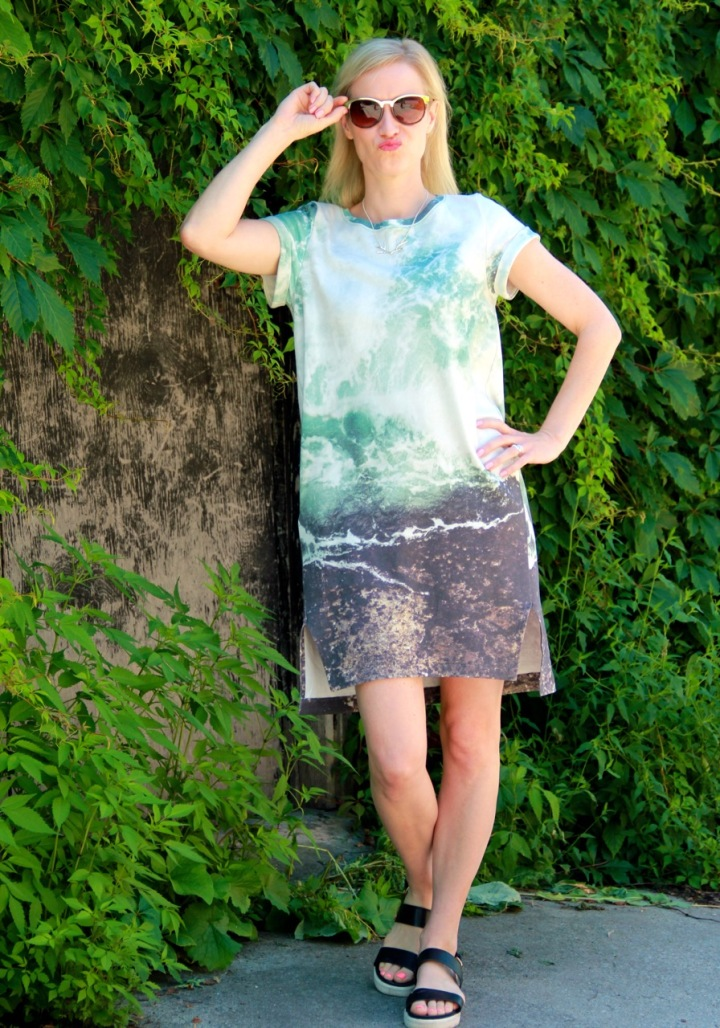 Inari Tee Dress by Named Clothing