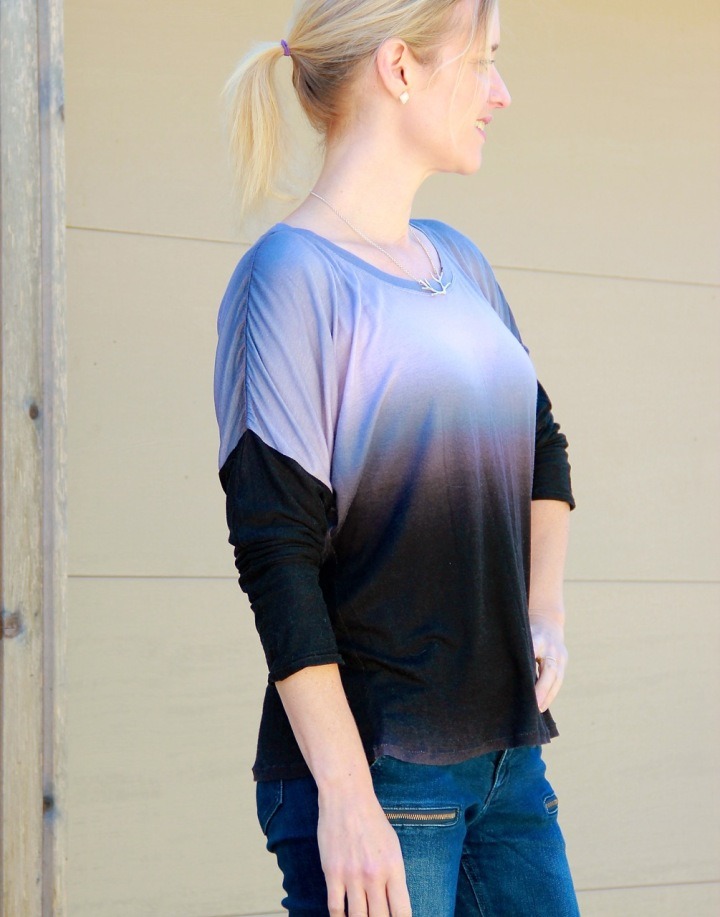 Frivolous at Last - One Hour Ombre Top