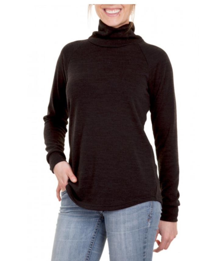 Jalie's Marie Claude raglan pullover with turtleneck