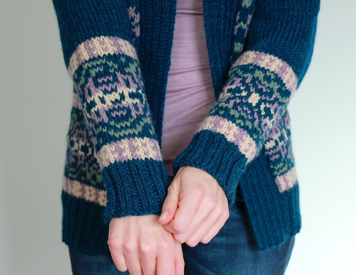 Frivolous at Last - Velvet Morning Knit Cardigan