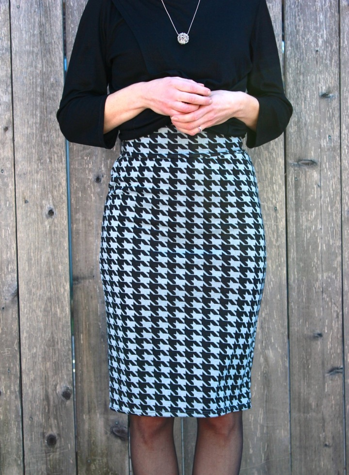 Frivolous at Last - Love Notions Sybil Illusion pencil skirt