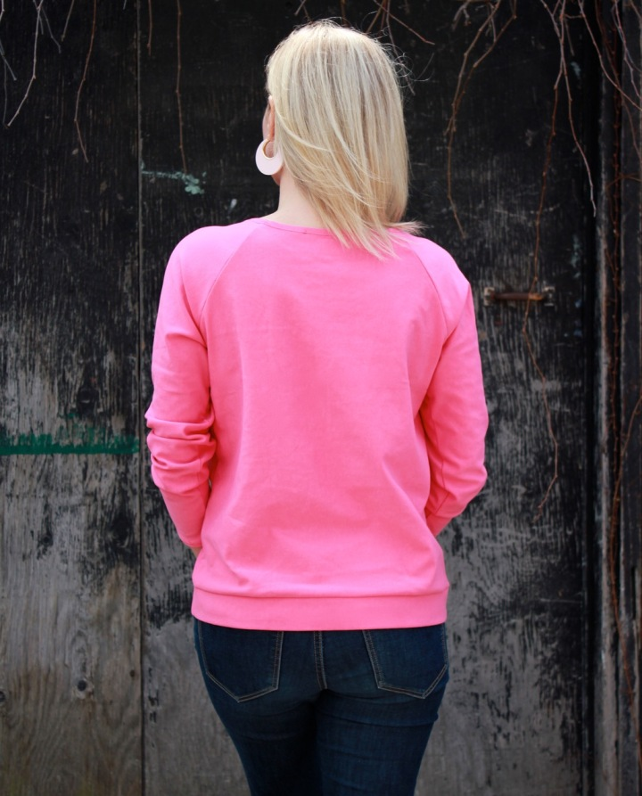 Frivolous At Last - Linden Sweatshirt - back view