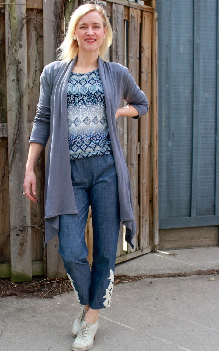 Frivolous at Last - Style Arc Nina Cardigan