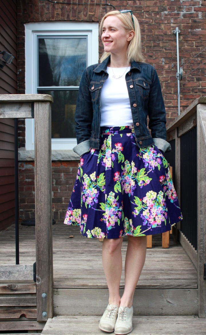 Frivolous at Last - Colette Zinnia skirt