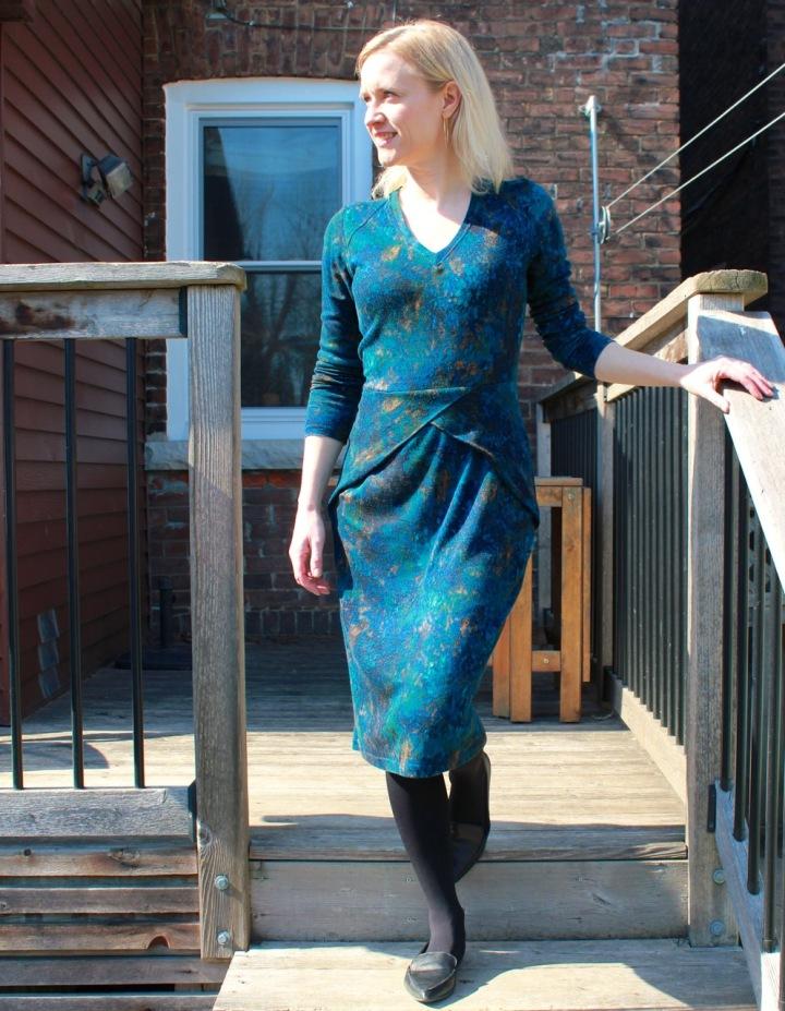 Frivolous at Last - BurdaStyle Dress 10/2013 #112