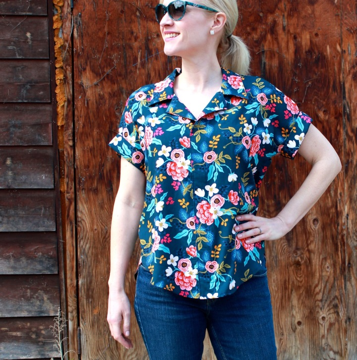 Frivolous at Last - Willamette Shirt by Hey June
