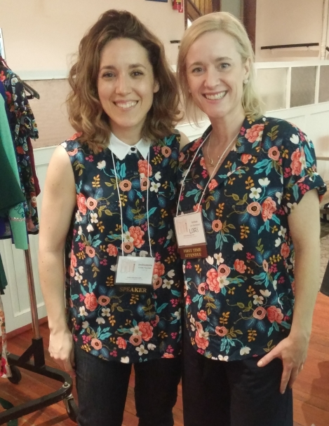 Frivolous at Last - Lori and Emilie from Jalie Patterns
