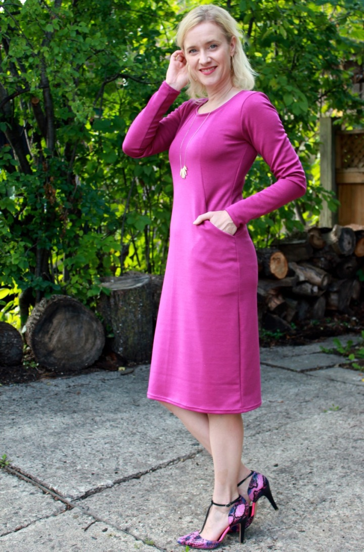 Frivolous at Last - Sew Over It Heather Dress