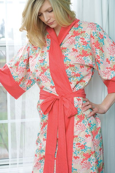 Connecting Threads free lawn kimono robe