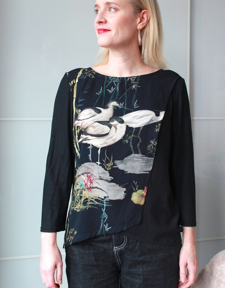 Frivolous at Last - BurdaStyle Wrap Blouse