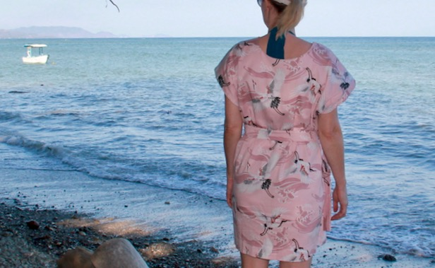Frivolous At Last - Zero Waste Brumer Dress by Milan AV-JC